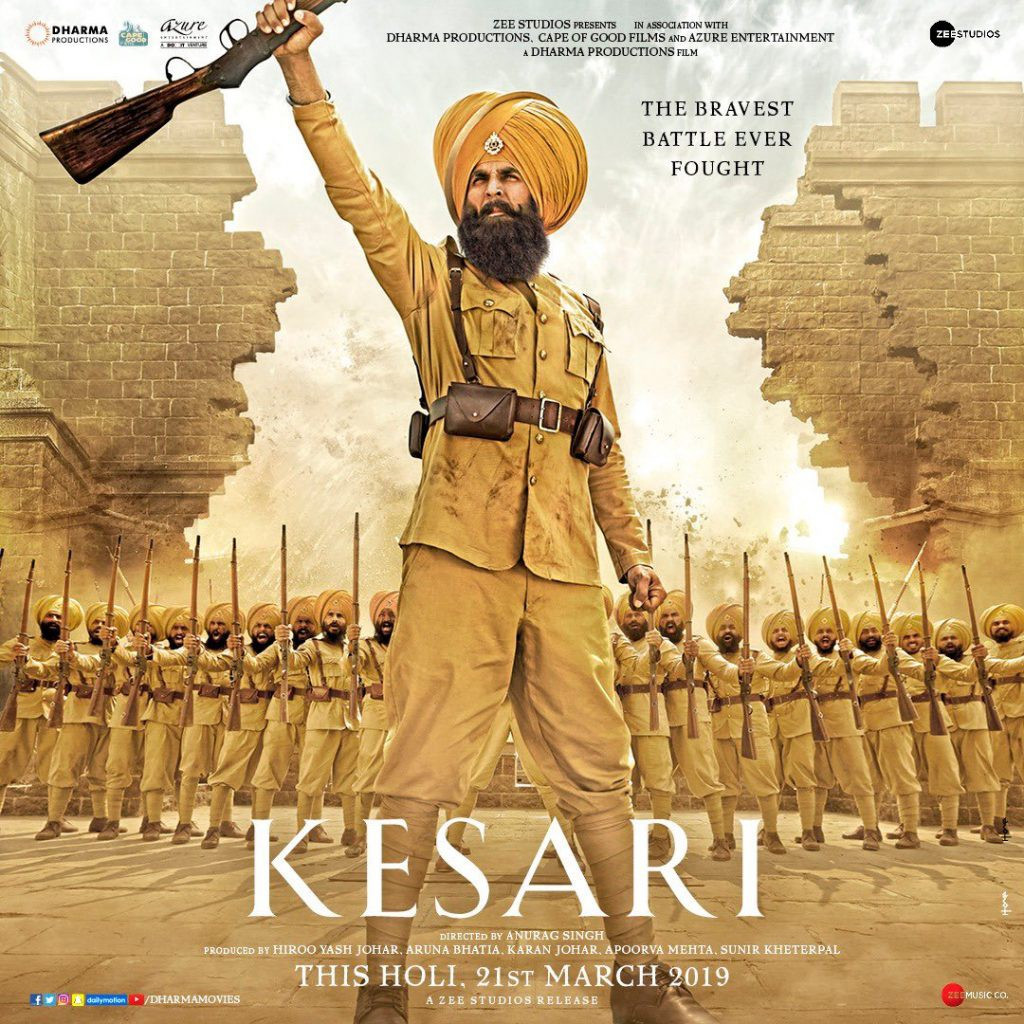 Kesari (2019) Movie Download Free in HD Quality - Jessica