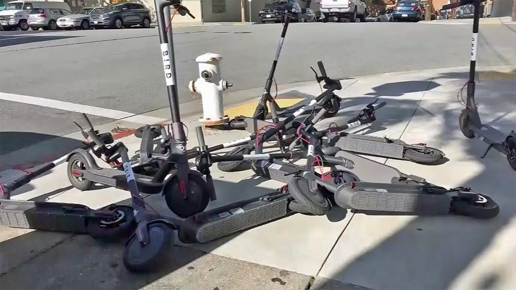 Defining the Peskin Ratio, and why (some) scooter networks fail