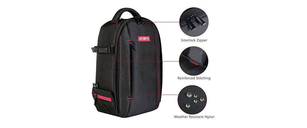 Beschoi Camera Backpack The Stylish Solution Lumoid Medium