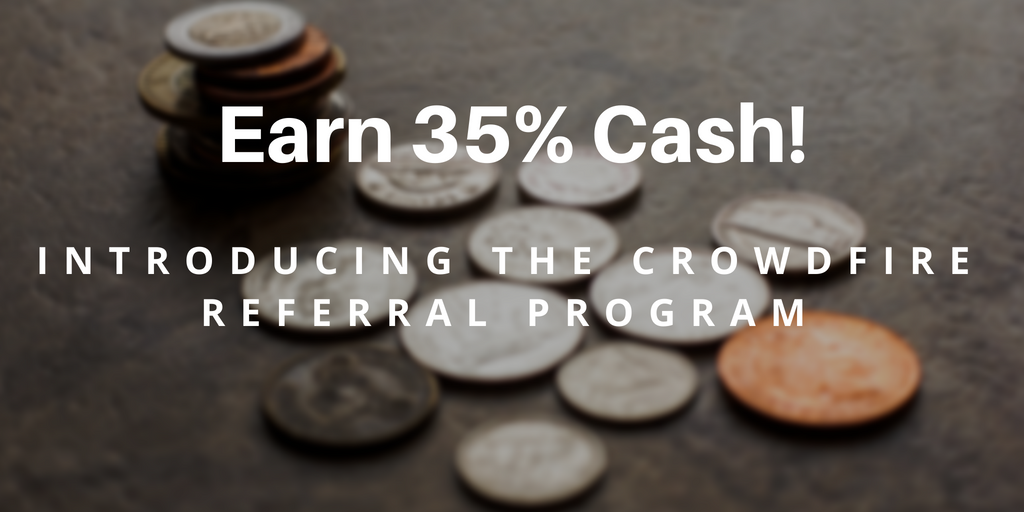 Introducing the Crowdfire Referral program — Earn 35% Cash!