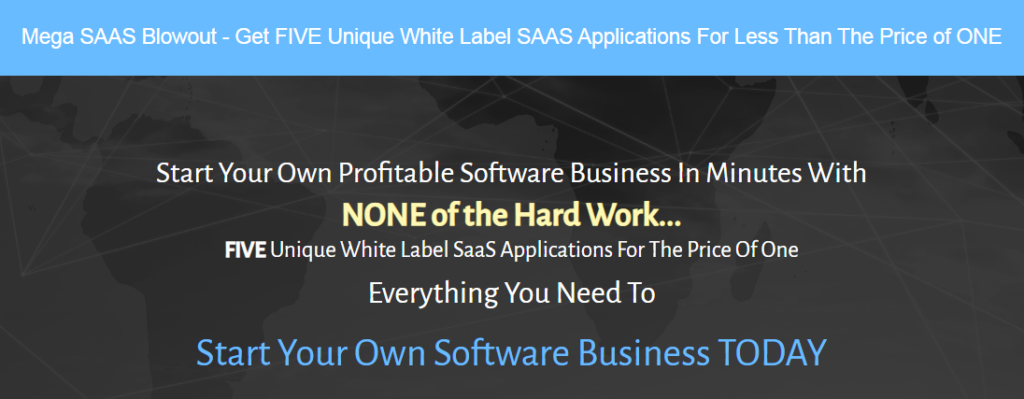 The Five Software White Label SAAS