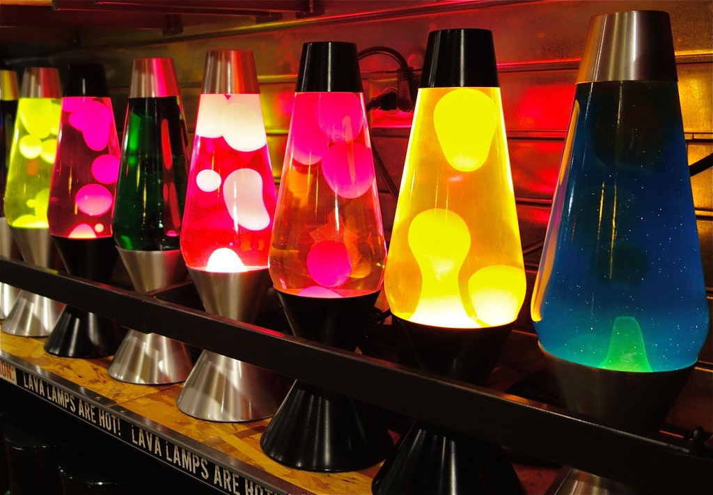 Lava Lamps And The Way They Make Me Contemplate Life
