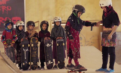 Skateboarding in a warzone when you're a girl won best documentary short film at the Oscars 2020