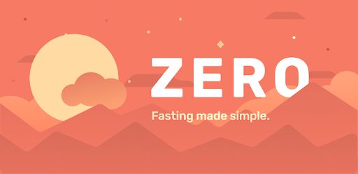 Picture of the Zero app logo: Fasting made simple.