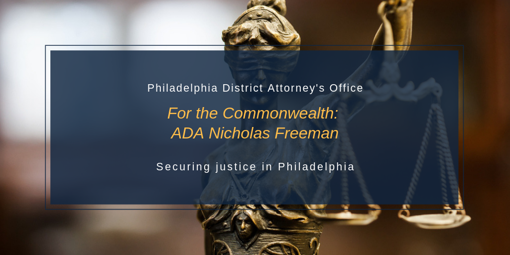 For the Commonwealth: ADA Nicholas Freeman - The Justice