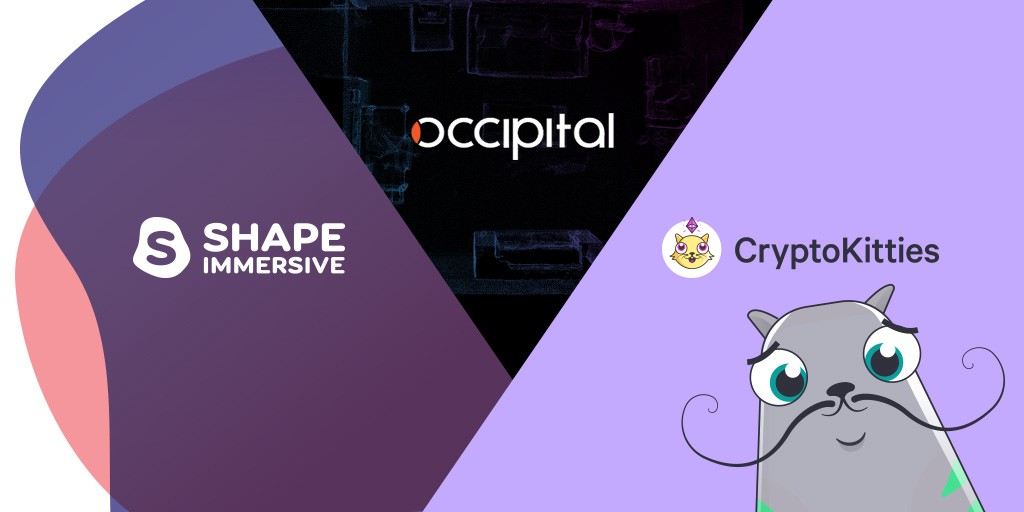 Shape Immersive Partners With Occipital and Dapper Labs to