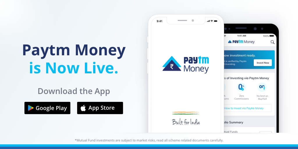Taking our First Step with Paytm Money  We are Live!