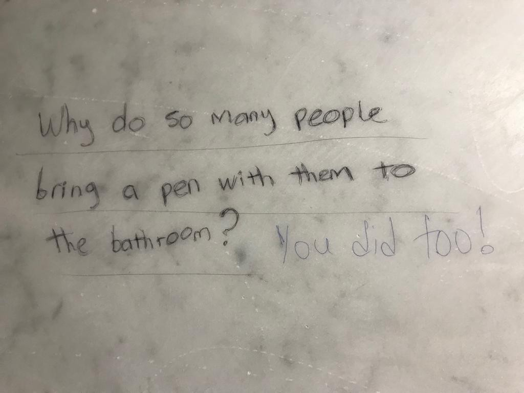 Friday Fun: Hilarious Quotes You Read at Random Restrooms in ...