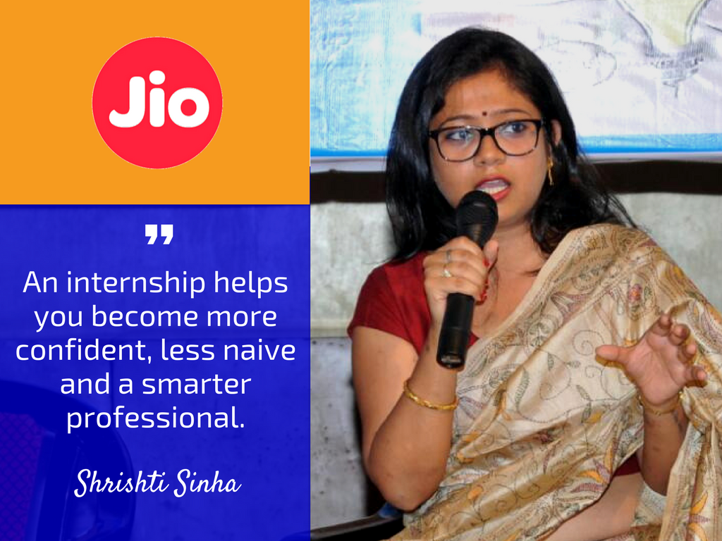 Exclusive Internship Insights from HR of Reliance Jio