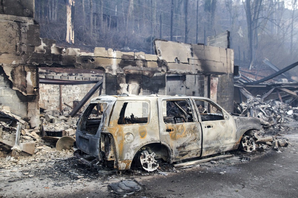 Tennessee's massive wildfire killed at least seven people this week