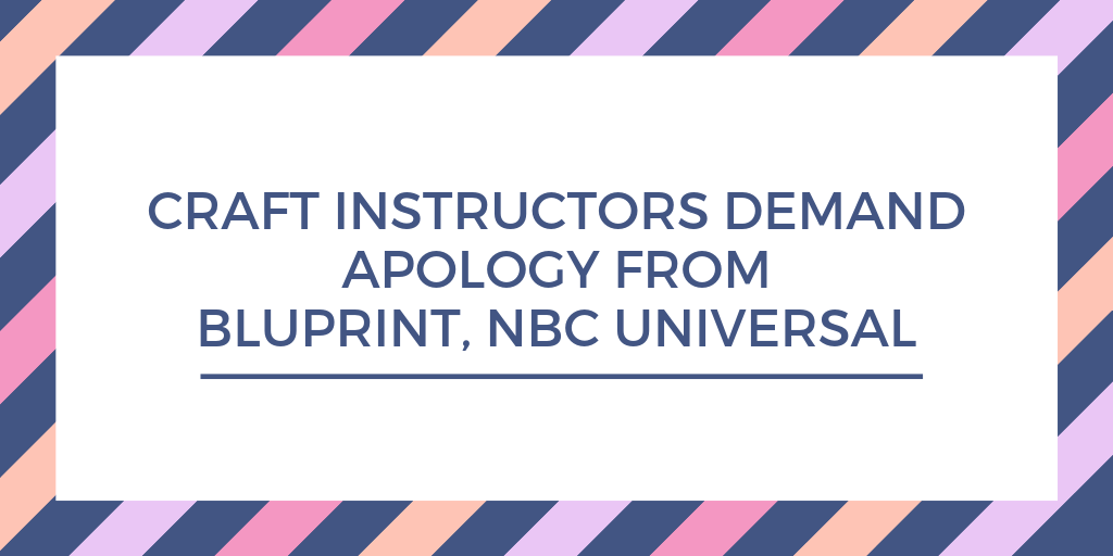 Open Letter from Instructors to Bluprint and NBC Universal