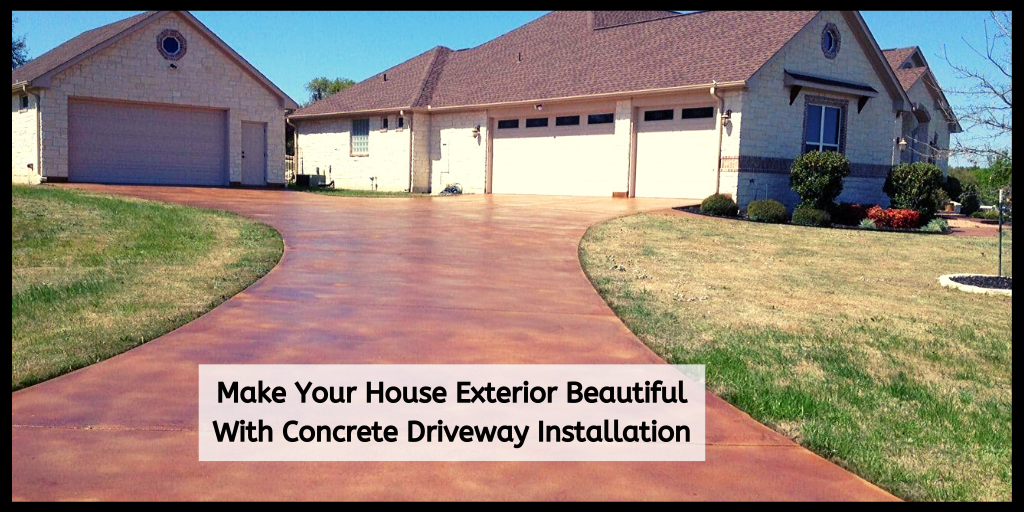 Why Hire A Concrete Driveway Installation Contractor