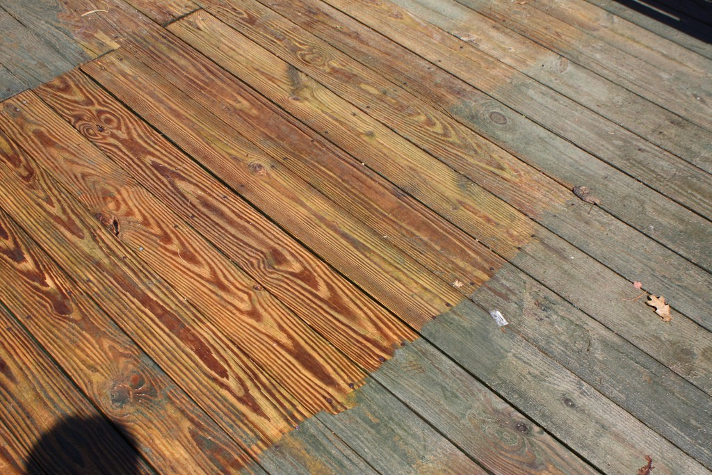 Tips On How To Wash Your Deck Nu Life Cleaning Services