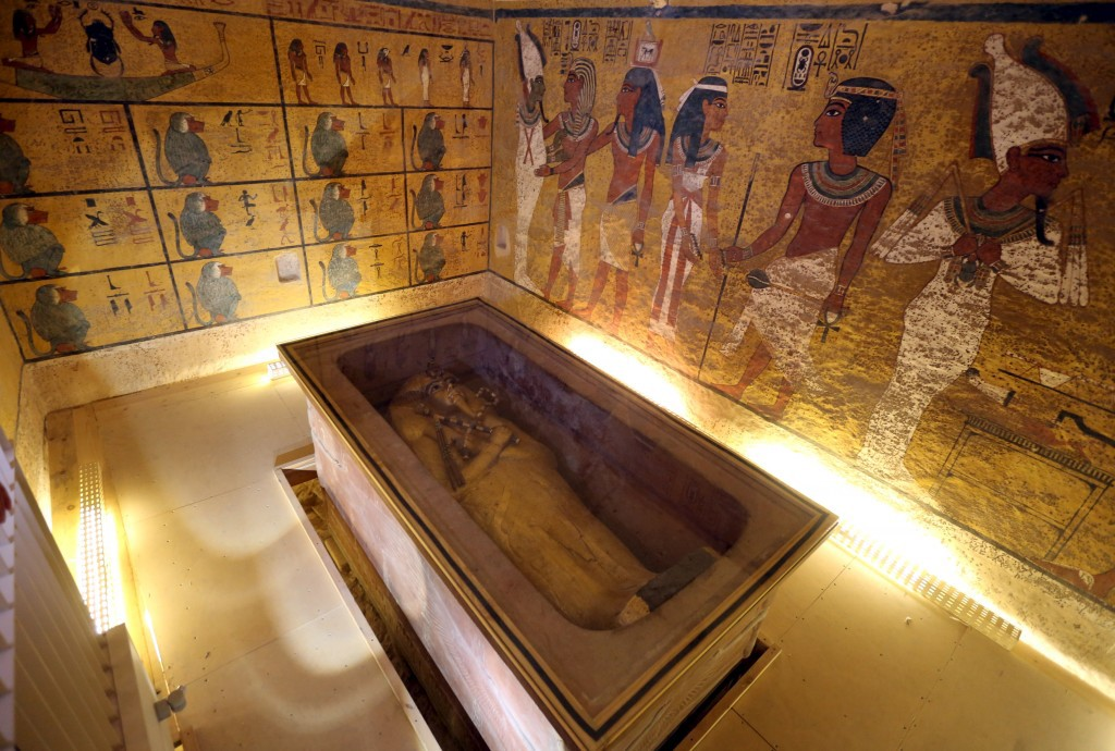 Leave King Tut Alone! - Evan Andretti - Medium