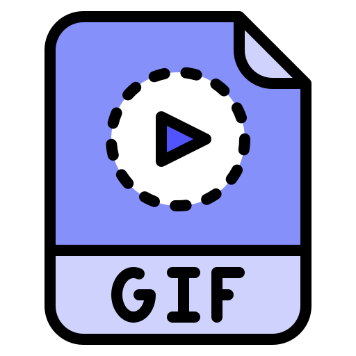 An icon representing the GIF format