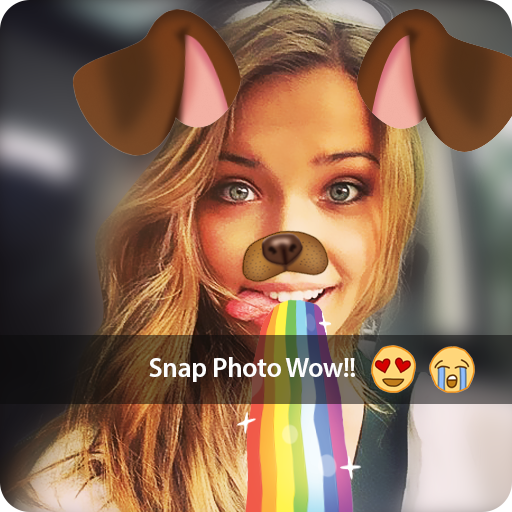 photo filters for snapchat with face Stickers - photo filters for