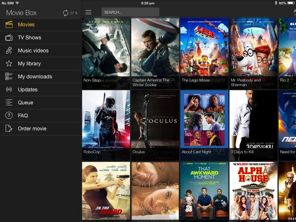 One Click Movie Solution — Movie Box for iOS / Android and PC