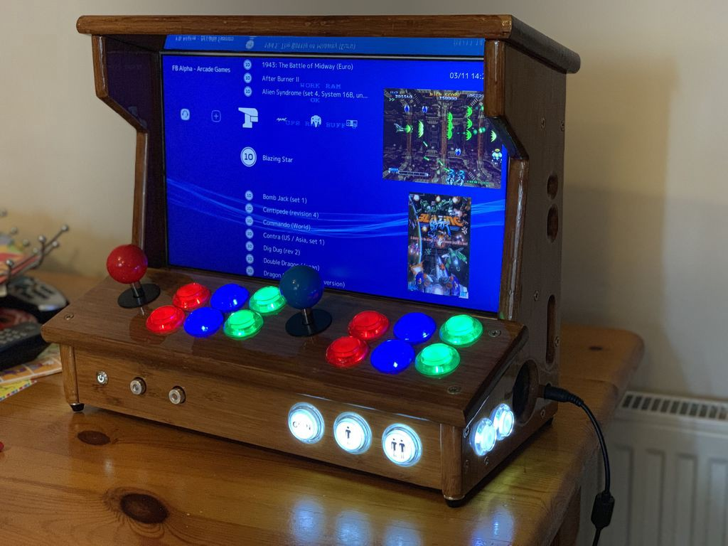 Build a 2-Player Tabletop Arcade with an Old Laptop and IKEA