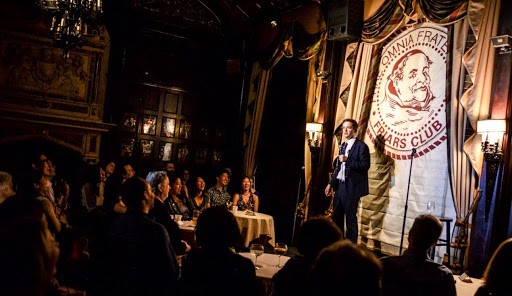 Turner Sparks Records his Comedy Album Live at The Friars Club