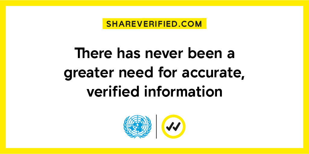 Verified — A global UN initiative to combat COVID-19 misinformation
