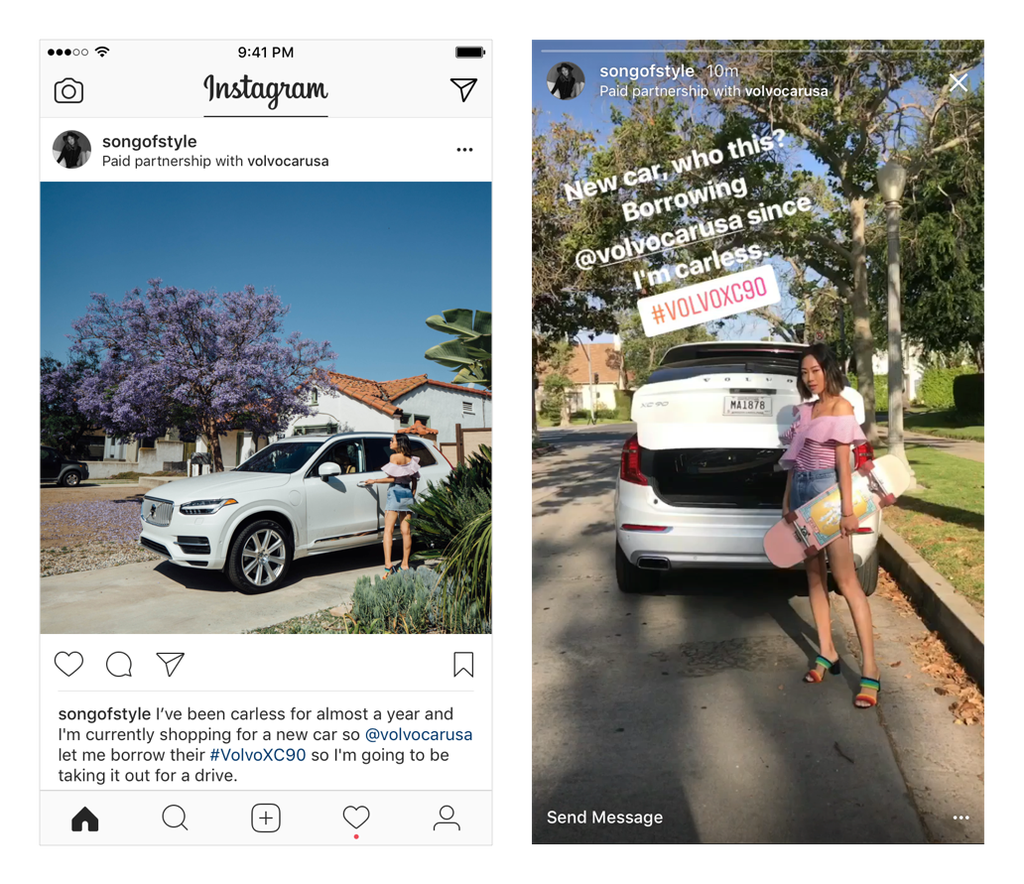 "What Instagram's ""Paid Partnership with"" means for you. 