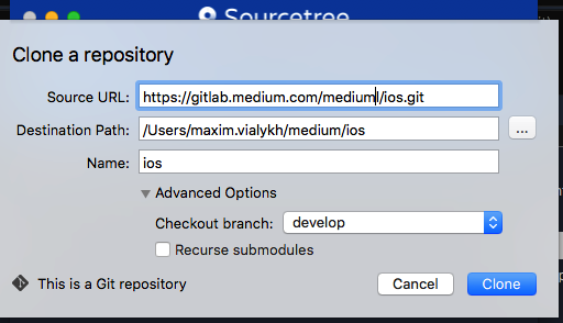 Sourcetree Staged Files