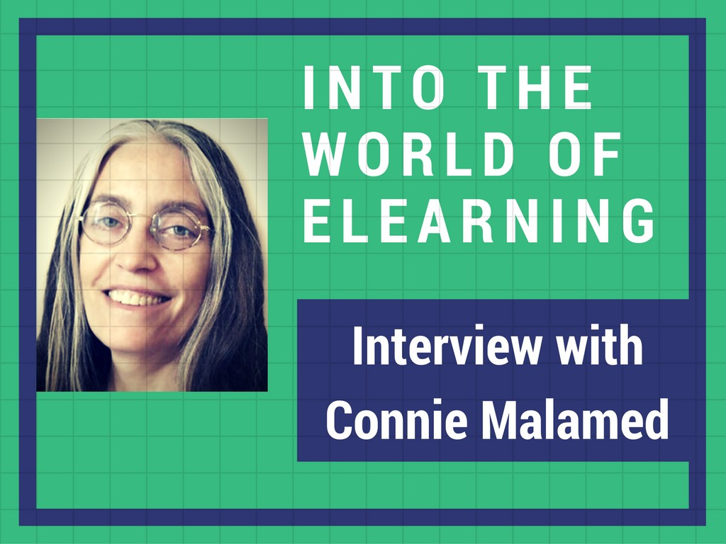 Into The Elearning World Interview With An Instructional Designer Connie Malamed By Ruchi Goel Zipboard