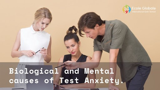 causes of test anxiety