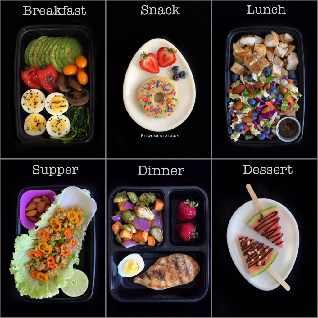 High Protein Low Carb Meal Prep Breakdown By Fit Women Eat Fit Women Eat