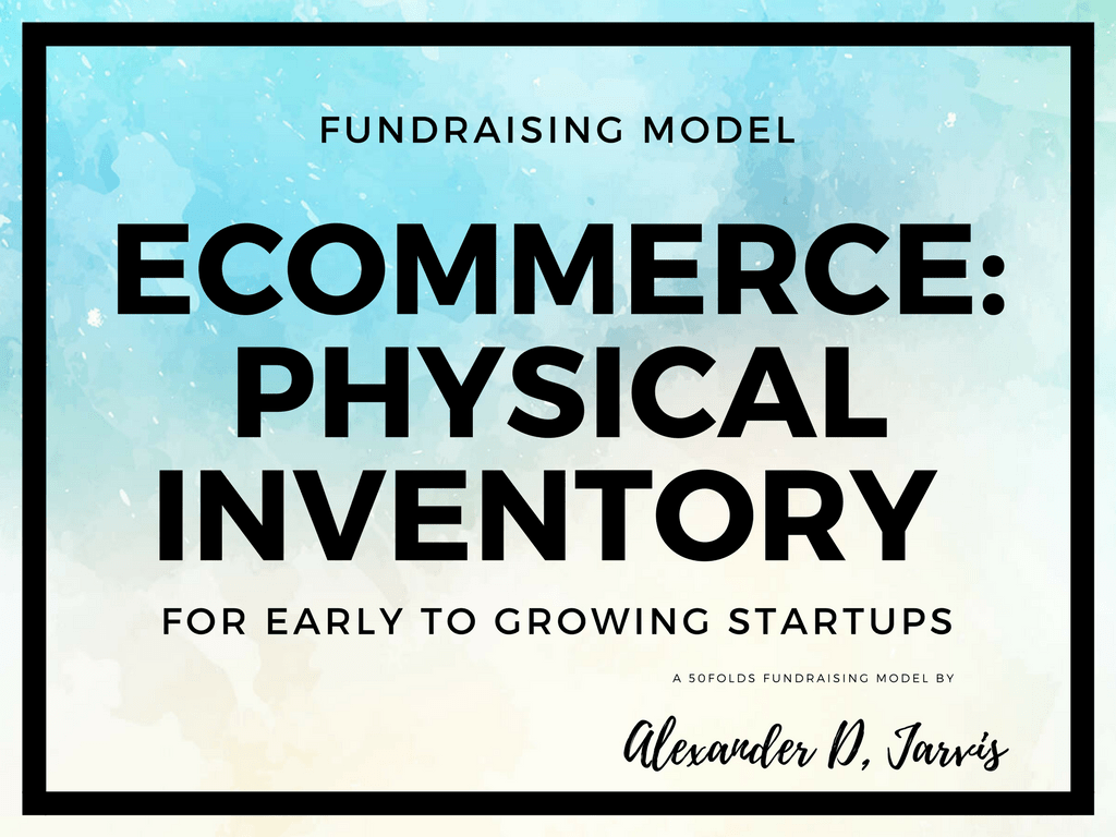 Bad ass ecommerce financial model excel template for fundraising