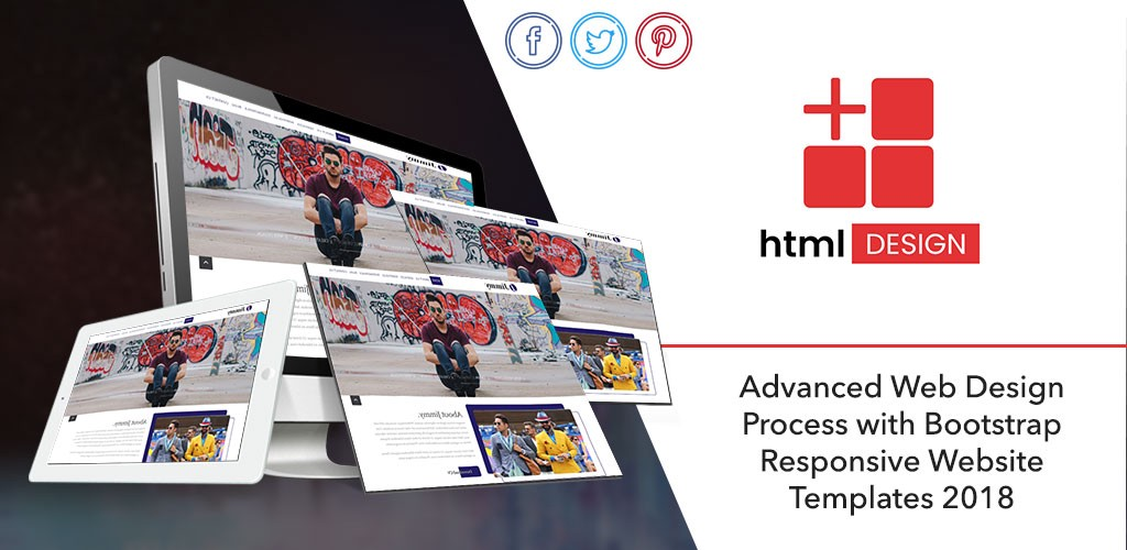 Advanced Web Design Process With Bootstrap Responsive Website Templates 2018 By Html Design Free Html Template Medium