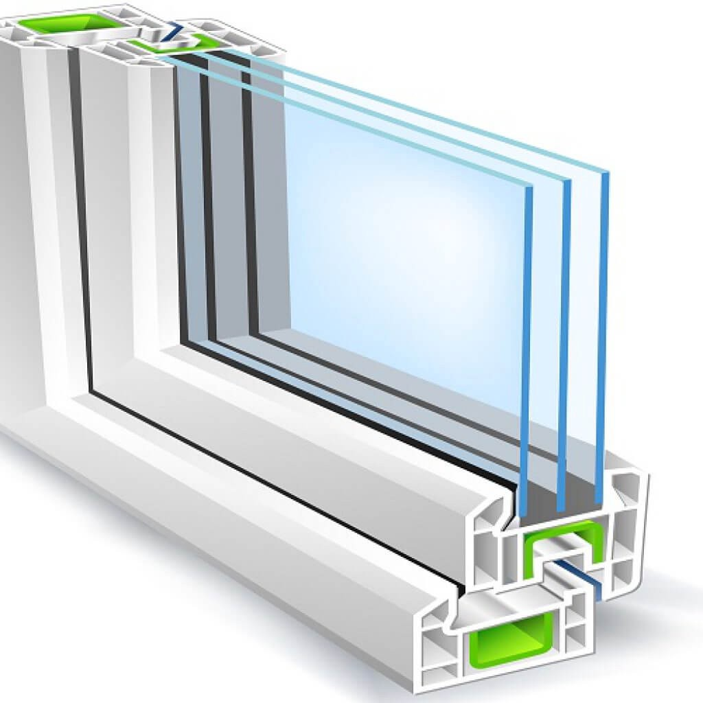 premium selection d9eab 9a5f5 Plastic Windows with double glazing: all you should know