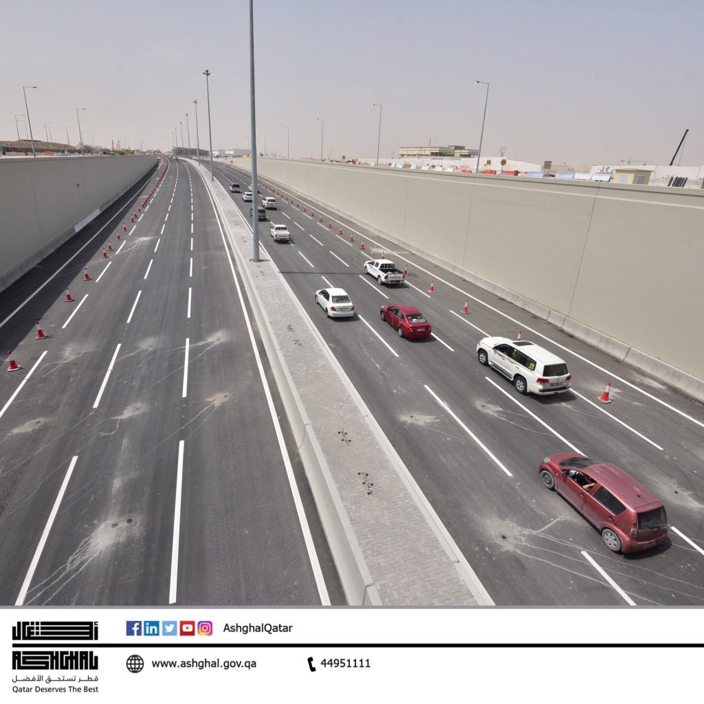 Relief For Commuters As Al Rayyan Road Upgrade Meets First Milestone By Shabina Khatri Doha News Medium