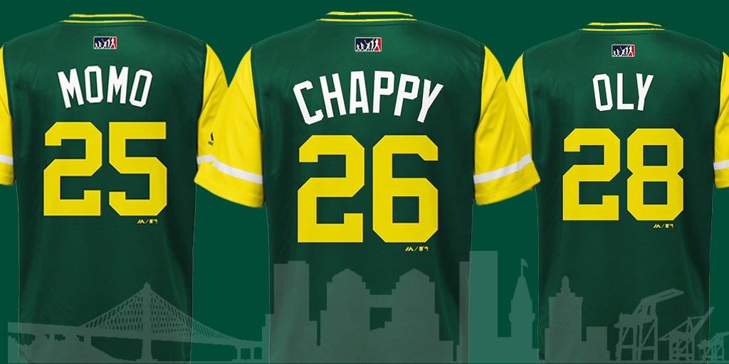detailed look 39552 269f5 A's Players Weekend Nicknames Unveiled - Oakland Athletics