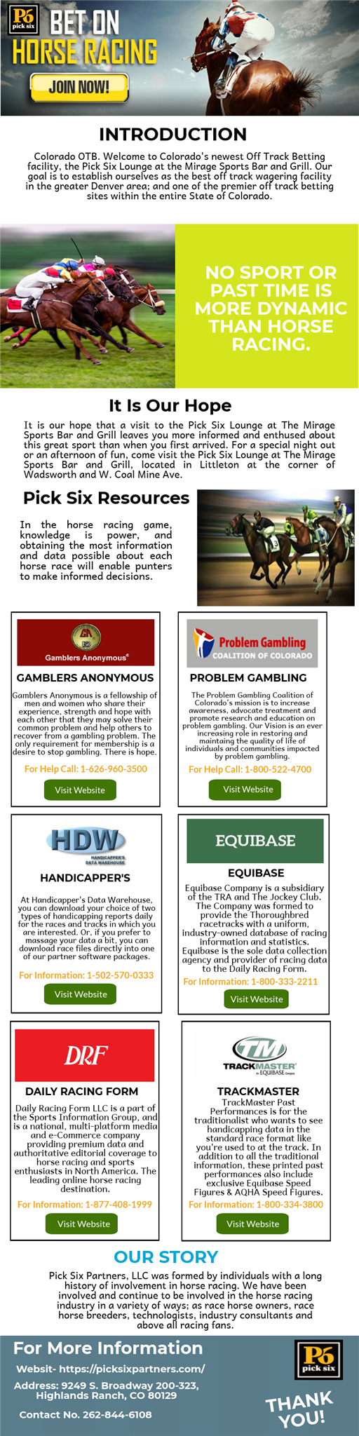 Horse Racing - picksix partner - Medium