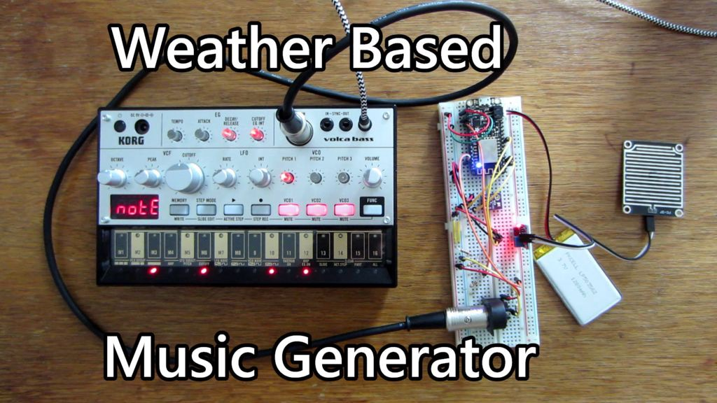 This MIDI Generator Creates Music Based on the Weather