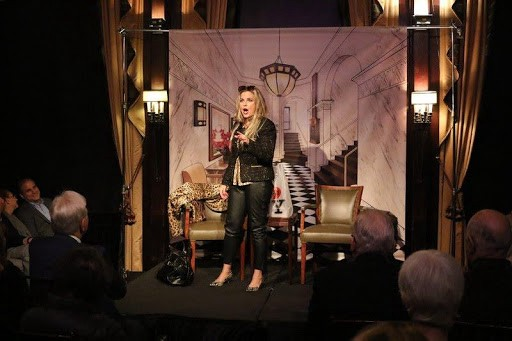 Actress Sarah Fearon Performs One Woman Show Live at The Friars Club