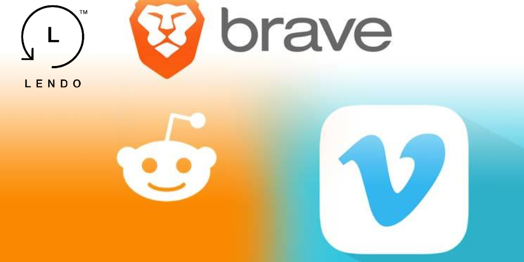 Brave browser expands tipping to Reddit and Vimeo - Lendo