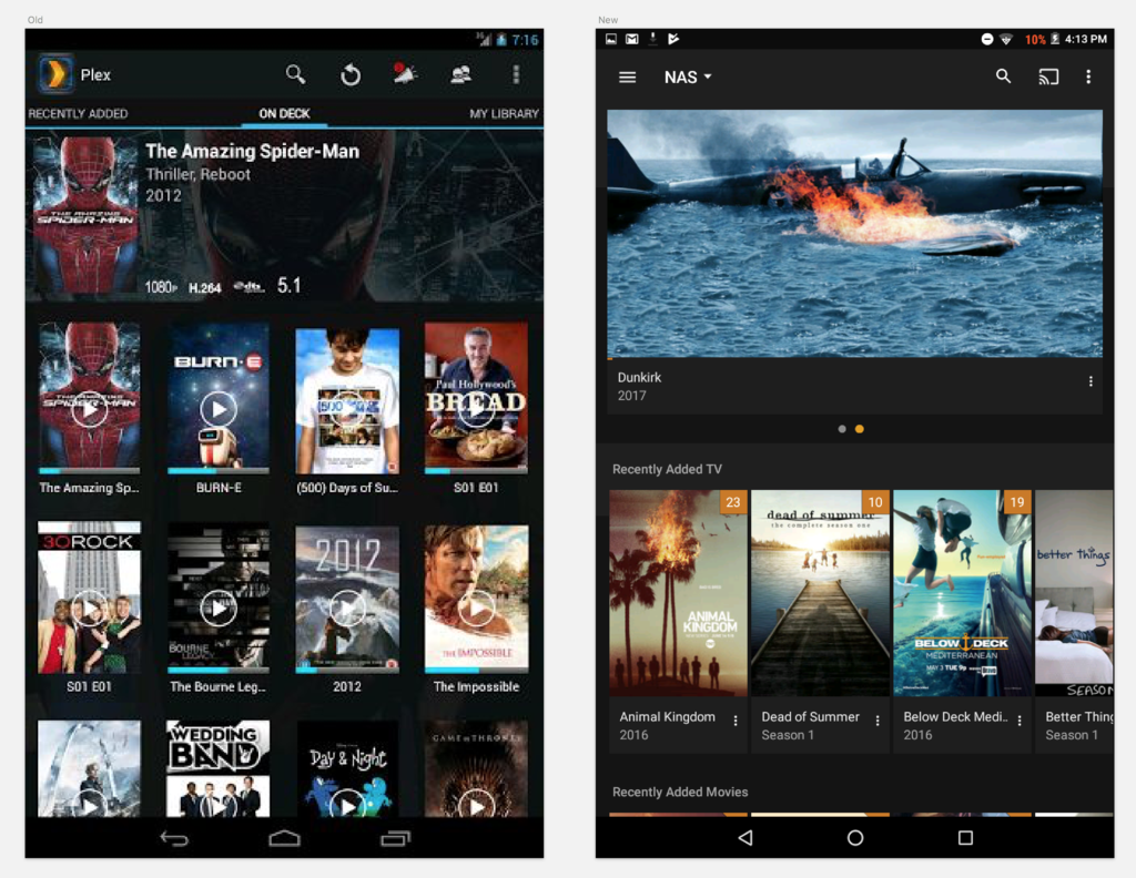 Android and Video: The Good, the Bad and the Ugly - Plex