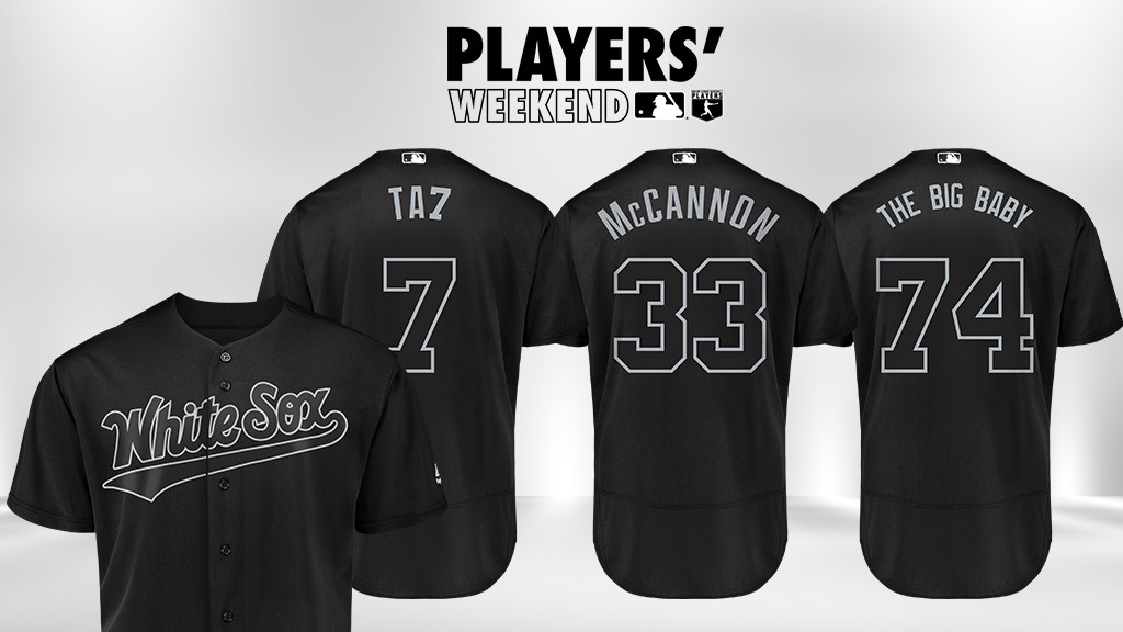 cheap for discount 511dc 1f43f Players' Weekend, Nicknames on Jerseys Return to MLB on ...