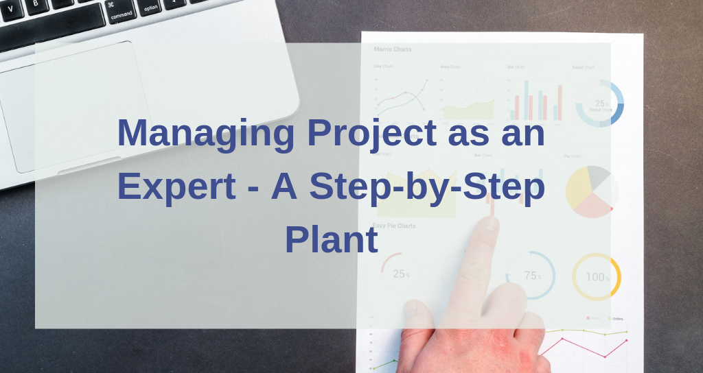 Managing Project as an Expert — A Step-by-Step Plan