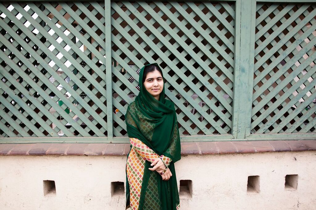 A glimpse into the life of 19-year-old Nobel Peace Prize