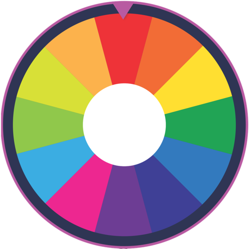 wheelspin.io logo, give it a try if you feel lucky!