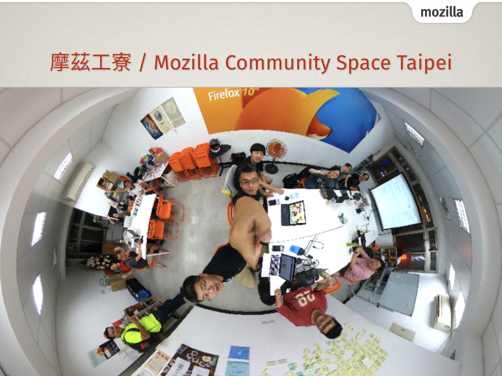 5 Years of Mozilla Community Space Taipei - A Brief Status