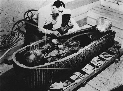 Tutankhamun's Blood - Matter - Medium