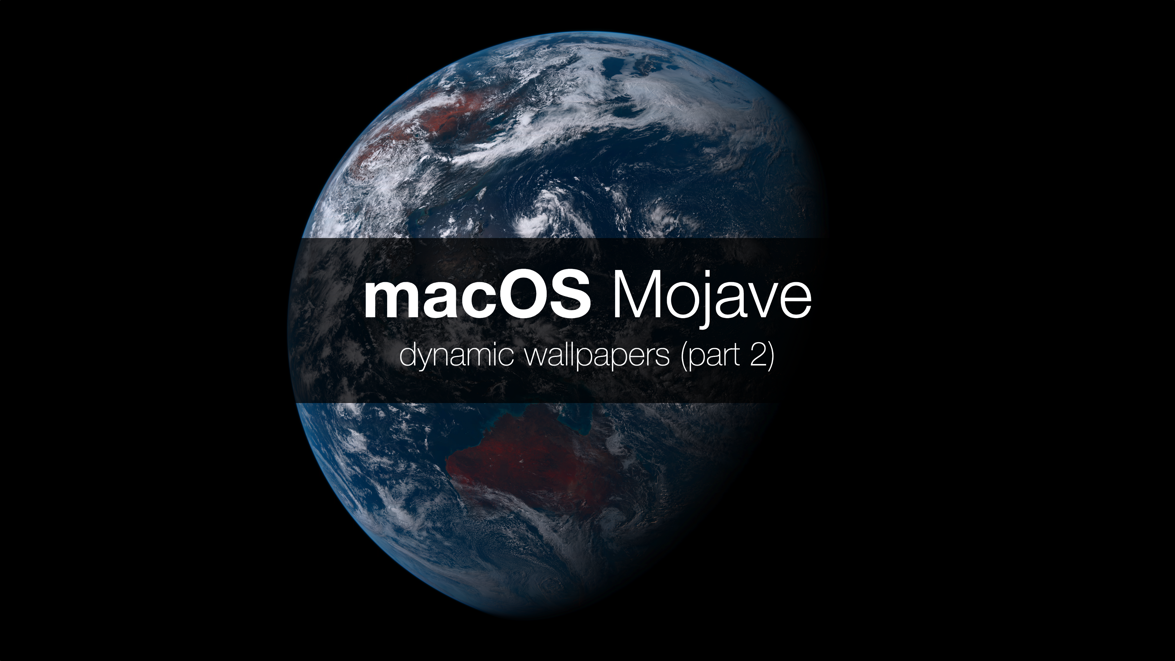 Macos Mojave Dynamic Wallpapers Ii Itnext