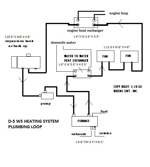 simple circuit diagram hot water diy high altitude hydronic    water and space heating in a sprinter van  water and space heating in a sprinter van