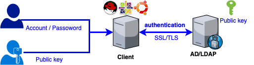 Linux authentication Windows AD without join domain
