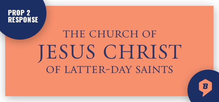 The Church of Jesus Christ of Latter-day Saints Responds to